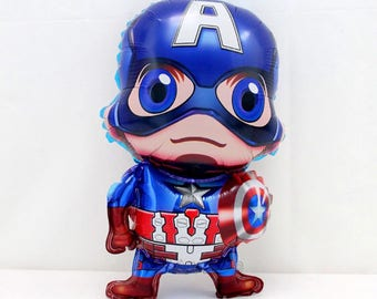 Captain America Balloon perfect for little ones Birthday