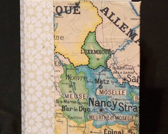 Journal with Map of France