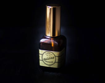 Saloon Mens Cologne - Old Fashioned Amber Bottle - The Parlor Co - 1 oz