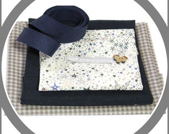 Free sewing kit - Liberty - Frou Frou - Creative leisur - Fabrics, button, bias, label
