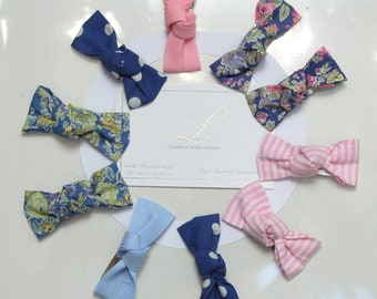 Free FDP 10 Liberty Tissue Knotty Bows and Classics Cottons Click Support