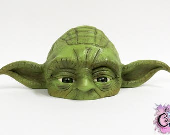 Yoda Cake Topper (Polymer Clay Sculpture)