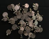 Mixed Lot of 50 Kuchi COINS with Loops Jewelry Making Costume Supply CL1 Uber Kuchi®