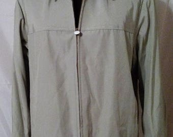 "LABOR DAY SALE 80s Vintage Golf Jacket-Jack Nicholson-38"" Bust-Size 6-Medium-Preppy Resort Casual Cruise Sportswear"