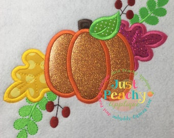 Pumpkin Swag Machine Embroidery Applique Design Buy 2 for 4! Use Coupon Code 50OFF