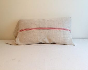 Antique French Grain Bag