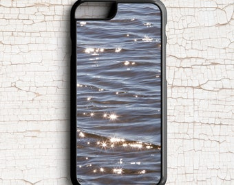 Dark Blue Water Cell Phone Case, Lake Water -  iPhone or Samsung Galaxy