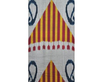 Sale! Ikat Fabric, Ikat Fabric by the yard, Hand Woven Fabric , F-A156-20