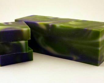 Natural soap bars/soap loaf/peppermint soap loaf/soap favors/soap bars/organic soap bar/kids soaps/2 bars/ choose scent
