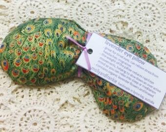 Lavender eye pillow / yoga / meditation / relaxation /cotton fabric