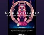Major Arcana Illustrations Calendar 2018