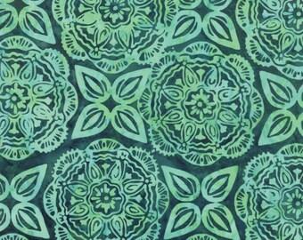 Moda - Longitude Batiks by Kate Spain - Mandala - Teal