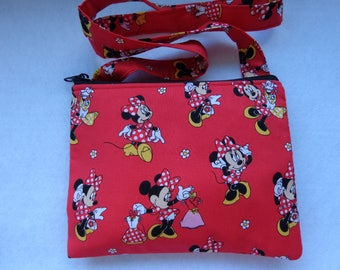 Kid's Crossbody Bag: Minnie Mouse
