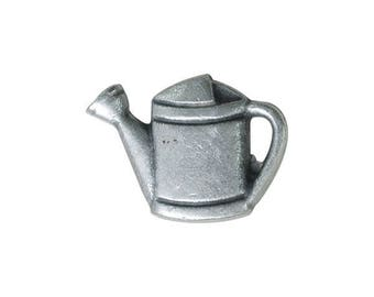 Metal Watering Can Button 18mm x 13mm