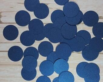 Metallic blue Confetti, Circle die cut confetti, Paper circle decoration, Wedding confetti, Birthday confetti,  Mix and Match