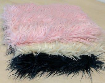 CLEARANCE - 3 pc Mongolian Fur Basket Stuffers