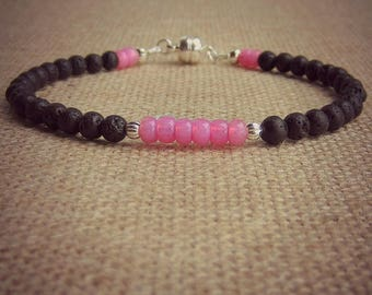 Ankle Diffuser Bracelet • Lava Stone Diffuser Bracelet • Aromatherapy • Oil Diffuser Stone • Aromatherapy Anklet • Essential Oil Bracelet