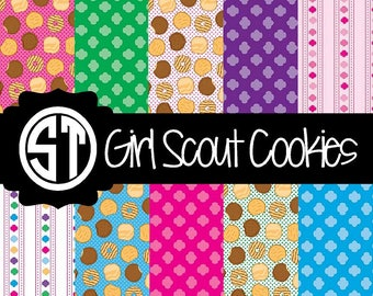 Girl Scout Cookie Patterns Vinyl (Indoor, Outdoor,  Glitter vinyl , HTV iron on, Glitter HTV) Lamination available Mask not included