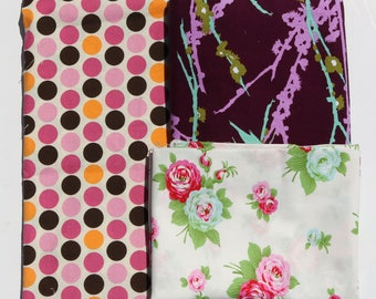 A2: Fabric Destash Scrap Pack - Over 2 yards - Bundle A2