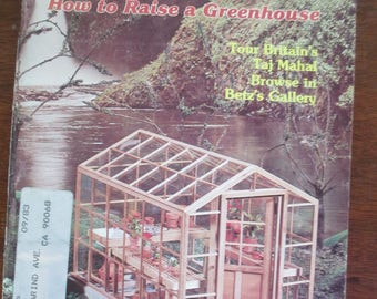 Vintage  Miniaturist's magazine Nutshell News May 1981 out of print back issue used