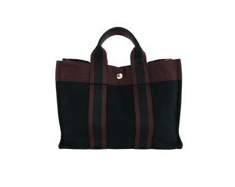 HERMES Canvas Fourre-Tout Bag