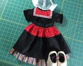 Custom Listing for Lisa Volendam Dutch Costume for American Girl or 18-inch Doll