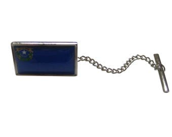 Nevada State Flag Tie Tack