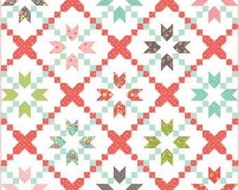 Cross Stitch #123 Pattern by Corey Yoder of Coriander Quilts - Moda
