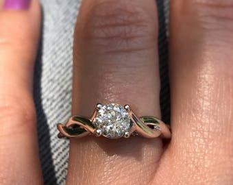 5/8 carat Diamond Engagement Ring. Offering flexible layaway.