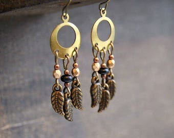 Little Dream Catcher Earrings Boho Dreamcatcher Earrings Feather Earrings Dreamcatcher Jewelry Feather Dreamcatcher Earring Bohemian Earring