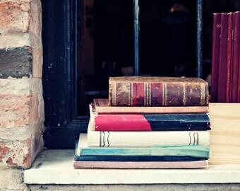 SALE Dorm wall art, dorm decor, dorm art, book art, art book, book lover, canvas art, canvas wall art, wall art canvas, studio, book