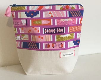 Small Project Bag - Chew Gum with me (purple)