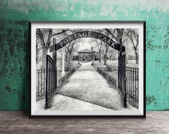 Portage Park, Chicago - Chicago Photography Print - photo art
