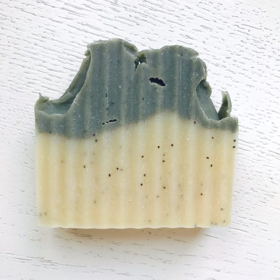 Cambrian Blue Tea Tree Soap - handmade soap - natural soap