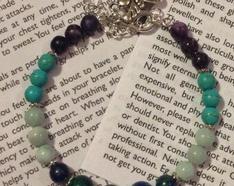 Panic Attack Awareness Bracelet, inspired by the ancient God of panic, chaos and anxiety