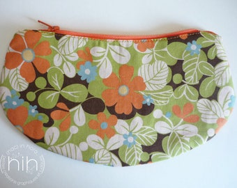 """small pouch LuNa / """"the flowering..."""" / clutch for small or large!"""
