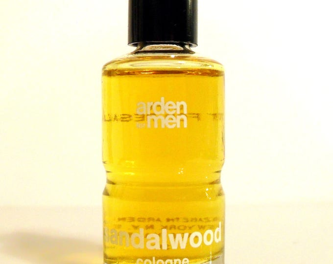 Vintage 1960s Sandalwood Arden for Men by Elizabeth Arden Mini Cologne Miniature