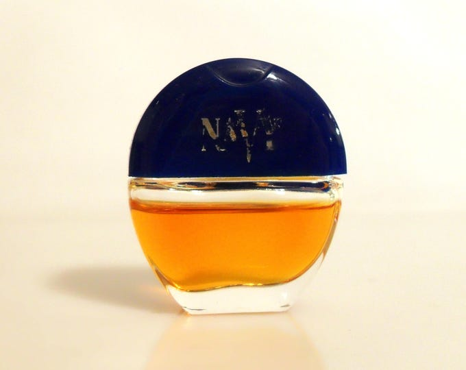 Vintage Mini Perfume 1990s Navy by Noxell 0.10 oz Cologne Miniature