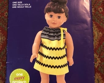 New Doll Dress Pattern