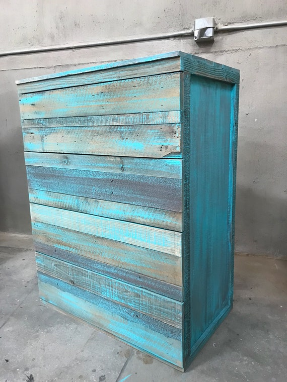 The Jacq rustic modern stack chest of drawers