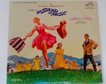 "The Sound of Music w/booklet - Original Soundtrack Record  - ""Climb Every Mountain"" - Original Mono RCA Victor 1965 - Vinyl LP Record Album"