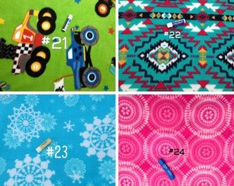 Fabric Choices #2 - Fleece Fabric Choices for Car Seat Ponchos