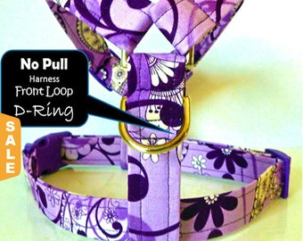 Puppy Love Sale - 40% Off No Pull Dog Harness - Traditional NO PULL Front D-Ring Harness - Available in all Dog Collar Listings
