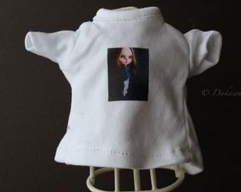 Blythe Doll Outfit /  1/6 doll size /  Customblythe print T-shirts   #3