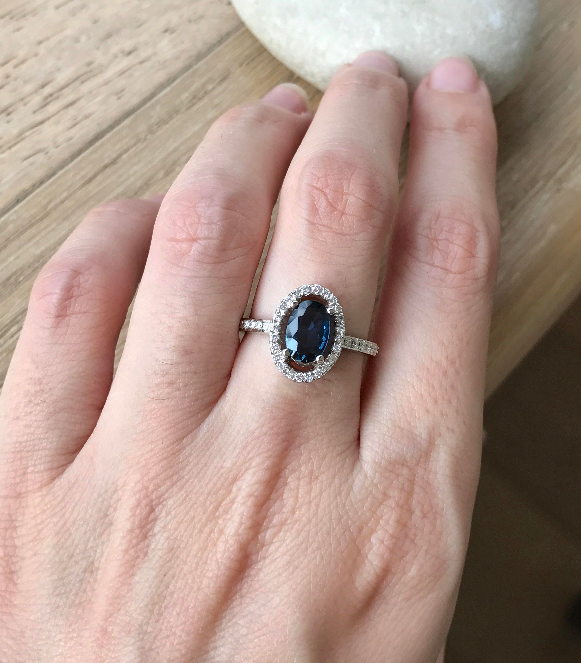 birthstone sapphire dark alternative il genuine carat engagement blue september ring oval listing fullxfull