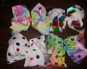 6 inch Large Hairbows