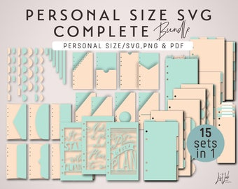 Personal Size COMPLETE CUT FILES Bundle – Die Cutting Files - svg, png, pdf