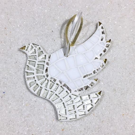 Christmas Tree Doves: White Dove Ornament Love Doves Christmas Ornament Peace Dove