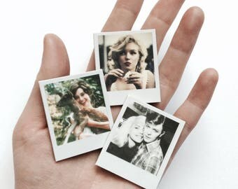 Mini photo magnets - custom handmade with your favourite pictures
