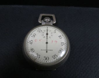 Elgin timer military pocket watch